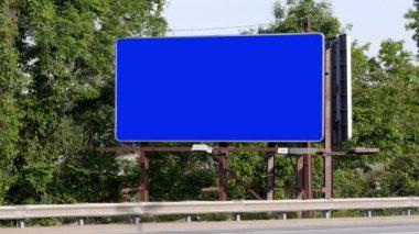 Tom billboard — Stockvideo
