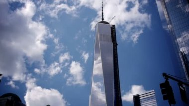 Freedom Tower Timelapse — Stock Video
