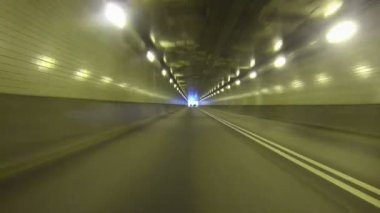 Fort Pitt Tunnel — Stockvideo