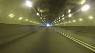Fort Pitt Tunnel — Vídeo de stock