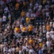 Defocused Sports Fans — Stock Video #29597715