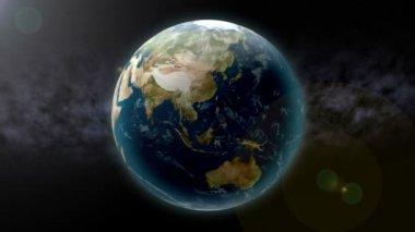 Aarde zoom naar china — Stockvideo