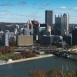 Pittsburgh Establishing Shot — Stock Video