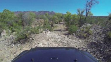 Desert Off Road — Stock Video
