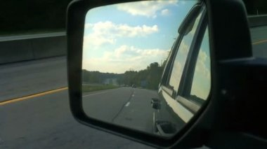 Rear View Mirror — Stockvideo