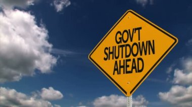 Government Shutdown — Stock Video