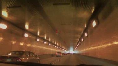 Fort Pitt Tunnel — Stockvideo