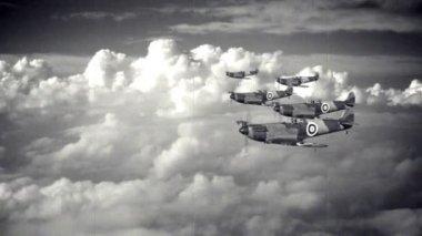 War Planes — Stock Video