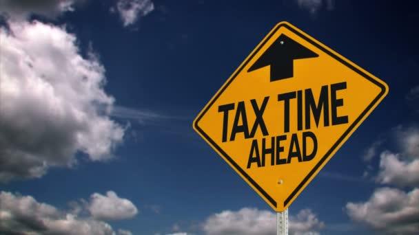Impuestos — Vídeo de stock