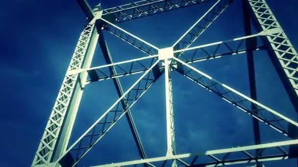 Puente de vigas — Vídeo de stock