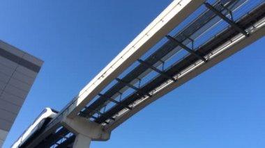 Las Vegas Monorail — Stock Video