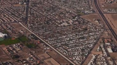 Aerial Las Vegas Area — Vídeo de stock