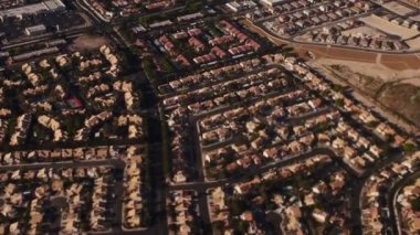 Aerial Las Vegas Area — Stock Video