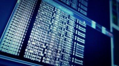 Počítačová data — Stock video