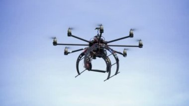 Unmanned Drone — Stock Video