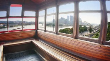 Duquesne Incline Interior — Stock Video
