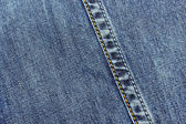 Seam on a jeans fabric — Stock Photo
