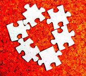 Puzzle fragment — Stock Photo