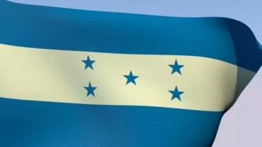 Flag of Honduras — 图库视频影像