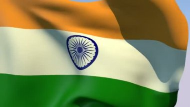 Flag of India — Stock Video