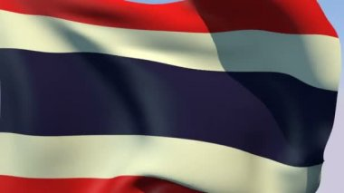 Flag of Thailand — Stock Video
