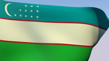 Flags of the world collection - Uzbekistan