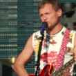 Ukrainifolk-rock band Vopli Vidopliassovlive performance at rock festival Best City — Stock Video #31444095