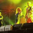 Stock Video: Leningrad live performance at rock festival Best City