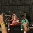 Applauding hands of fans during Vopli Vidopliassova live performance at the rock festival The Best City — Wideo stockowe