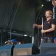 Stock Video: Russirock band Bi-2 live performance at rock festival Best City