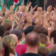 Fans unitedly applauding at Bi-2 live — Видео