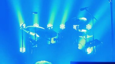 Hurts live performance at the rock festival The Best City — Stock Video