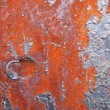 Royalty-Free Stock Photo: Aged rusty iron texture like a good grunge background