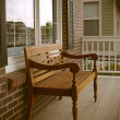 Stock Photo: Front porch