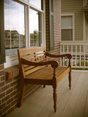Front porch — Stock Photo