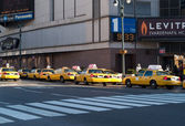 Taxi Stand — Stock Photo