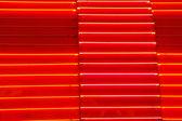 Consistenza al neon rosso o arancio — Foto Stock