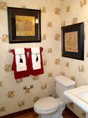 Nice schoonheid badkamer — Stockfoto