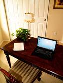 Klein kantoor aan huis — Stockfoto