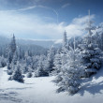 Snowy mountain scenery — Stock Photo #12852947