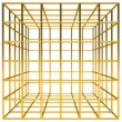Royalty-Free Stock Photo: Golden cage