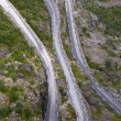 Foto Stock: Serpentine road