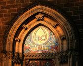 Fresco gótico — Foto de Stock