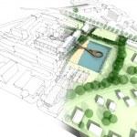Illustration of an idea in urban design — Stock Photo #12887863