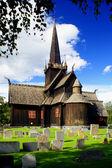 Viking church — Stock Photo