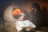 Moroccan bakery — Stock Photo