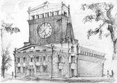 Monumental church in Prague — Stock Photo