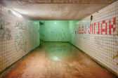 Subway tunnel — 图库照片