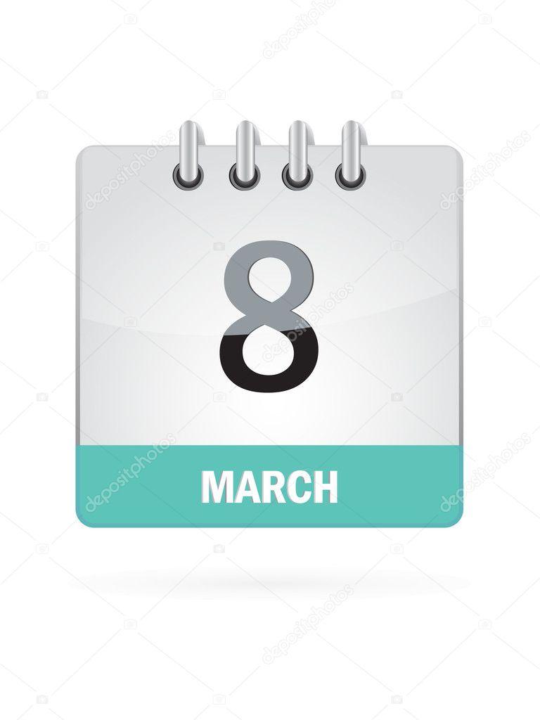 Календарь 8 апреля