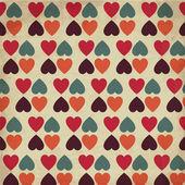 Vintage Hearts — Stock Vector
